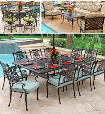 Cast Aluminum Patio Table And Chairs Aluminum Garden Table And Chairs Exhort Me