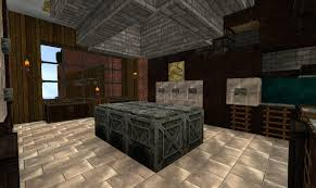Minecraft Dining Table Jd U0027s Gaming Blog Minecraft Creations The Brick Mansion Chapter 3