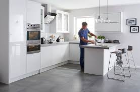 white gloss kitchen ideas all clear all shiny in white gloss kitchens home design plans