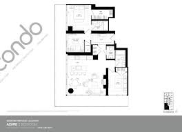 Azure Floor Plan Casa 2 Condos Talkcondo