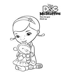 lambie love doc mcstuffins coloring netart