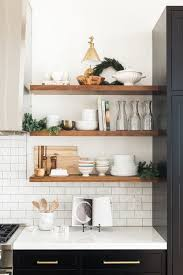 kitchen shelf do you have what it takes to live with open kitchen shelving