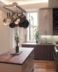 kitchen island pot rack lighting 11 best töpfe hängen images on hanging pot racks
