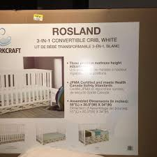 Storkcraft 3 In 1 Convertible Crib Find More Storkcraft Rosland 3 In 1 Crib For Sale At Up To 90