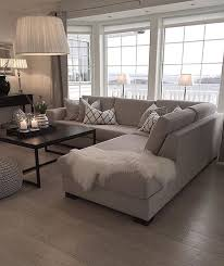 Sectional Sofa Living Room Ideas Living Room Design Large Sectional Sofa With Ottoman And Pit For