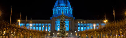 sf city hall lights san francisco festivals and events in december san francisco ca