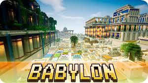 Map Of Babylon Minecraft Babylon City From Ancient Mesopotamia Jerenvids