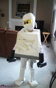Lego Ninjago Halloween Costumes Lego Ninjago Zane White Character Costume Lego Ninjago