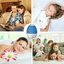 cool mist humidifier 2 8l ultrasonic humidifiers for 10 hours