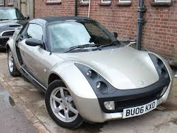 2006 smart roadster 80 2dr petrol black bronze automatic 80 000