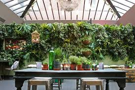 artificial vertical garden planting at evergreen direct