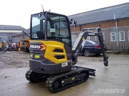 volvo heavy volvo ec27 d welwyn garden city mini excavators u003c 7t mini diggers