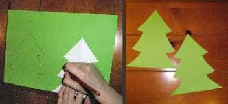 how to make a 3d christmas tree card or decoration show me