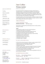 Sample Resume In English by English Teacher Cv Samples Business Teachers Resume S Teacher