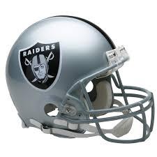 Oakland Raiders American Flag Authentic Helmet