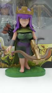 clash of clans archer pics 2pcs lot clash of clans archer queen barbarian king witch pvc