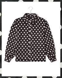 black polka dot blouse black polka dot blouse friday on my mind