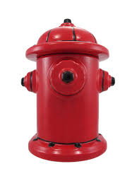 amazon com fire hydrant ceramic cookie jar fireman firefighter