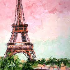 20 pieces of tres chic eiffel tower art