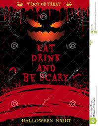 happy halloween party night card halloween pumpkin dark design 1