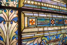 5 6 ornamental windows installed between 1898 and 1930 asc
