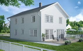 generöst och traditionellt ett traditionellt hus med symmetrisk