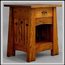 Free Mission End Table Plans great mission style nightstands mission page 2 free woodworking
