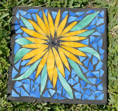 diy or buy how to make a garden mosaic stepping stone or where