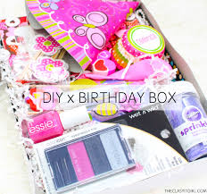 birthday care package diy birthday box birthday care package