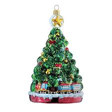 Glass Christmas Tree Ornament - 25 glass train christmas ornaments toy train center