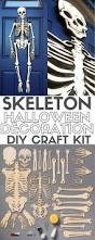 Halloween Skeleton Cut Out by How To Make A Skeleton Halloween Decoration For The Front Door