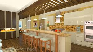 home designer pro rendering cottage beach kitchen ray trace done with chief architect