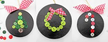 button ornaments handmade ornament no 7 bystephanielynn