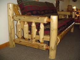 white cedar log couch u2014 barn wood furniture rustic barnwood and