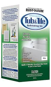 Bathtub Reglaze Kit Rust Oleum Rust Oleum Tub And Tile Refinishing Kit The Home