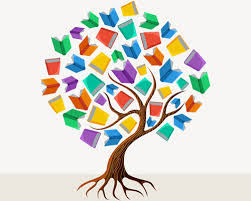 tree with book creative vector free vector in encapsulated