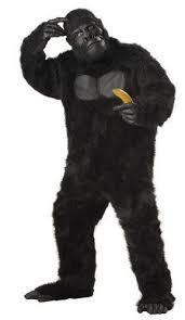 Halloween Costume Monkey Black Gorilla Monkey Ape Halloween Costume Halloween