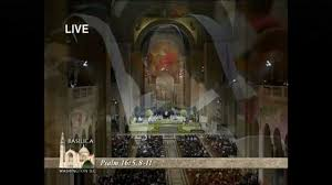 easter vigil mass u2020 from the basilica of the national shrine of the