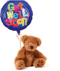 get well soon and balloons well soon balloon and teddy cupcakedropoff
