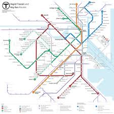 Map Running Routes by Mbta Map Proposal U2014 Cyrus Dahmubed Iqubed Design