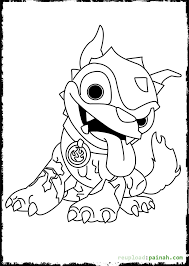 100 skylander printable coloring pages skylanders superchargers