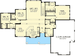 3 bedroom sprawling ranch home plan 89884ah architectural