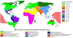 World Map Actual Size The Pseudoscience Of Race Differences In Size Psychology Today