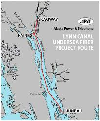 Southeast Alaska Map Alaska Power U0026 Telephone To Connect Upper Lynn Canal With New
