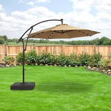 home depot solar replacement canopy for led offset solar umbrella uxm05201a