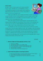 english teaching worksheets story comprehension