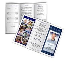 diy funeral programs five tips for professional looking funeral programs