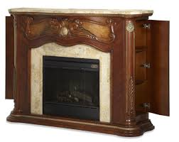 cortina marble top fireplace with electric fireplace insert from