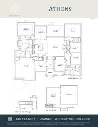 Houston Custom Home Builders Floor Plans by John Houston Custom Homes Dallas Fort Worth U2013 Midlothian U2013 Red
