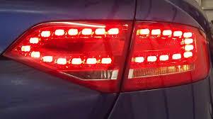 audi a4 tail lights genuine audi rear led lights a4 8k saloon a4 8k avant 2008 2012